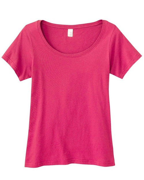 Anvil 391A Ladies Sheer Scoop Neck T-Shirt