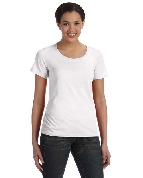 Anvil 391 Ladies' Sheer Scoop Neck Tee