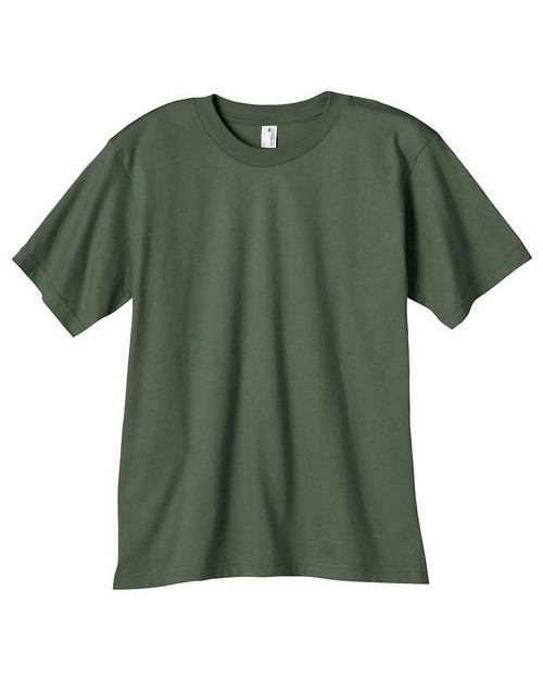 Anvil 490B Youth 100% Certified Organic Ringspun Cotton T-Shirt
