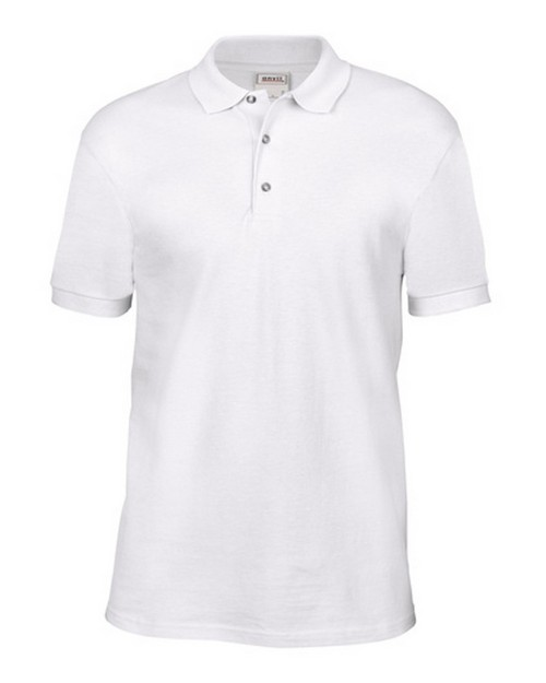 Anvil 6002 Adult Ringspun Pique Polo