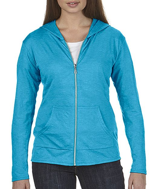 Anvil 6759L Womens Tri-Blend Full Zip Hooded Jacket
