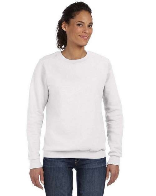 Anvil 71000L Ladies Combed Ringspun Fashion Fleece Crew Neck Sweatshirt