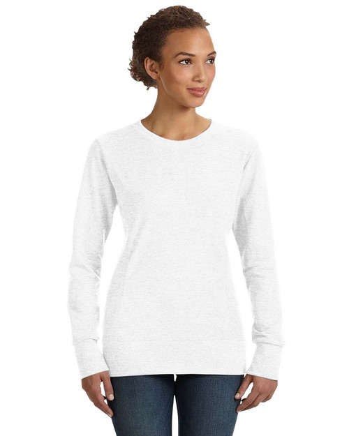 Anvil 72000L Ladies Ringspun French Terry Mid-Scoop Sweatshirt