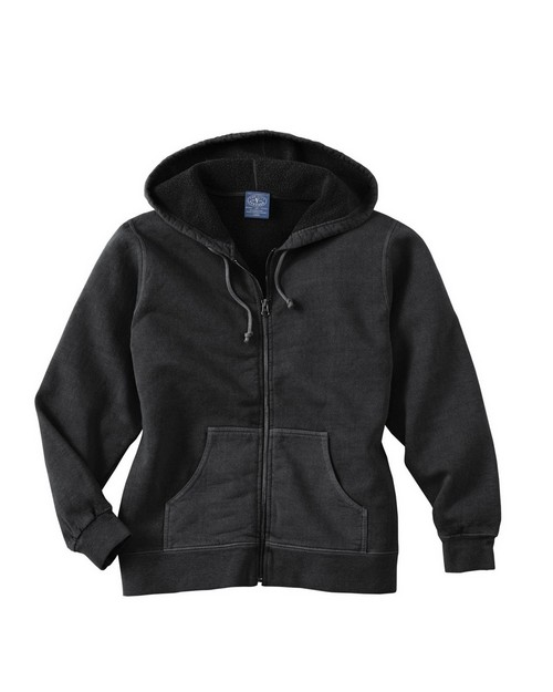 Ash City 121210 Ladies Vintage Hooded Zip Jacket