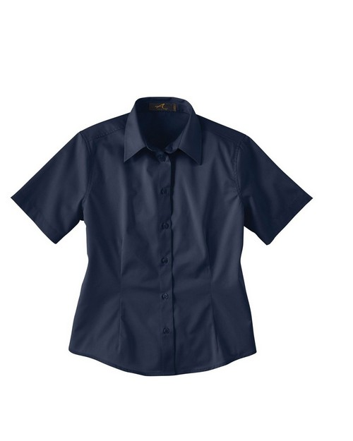 Ash City 77010 Ladies' Short Sleeve Twill Shirt
