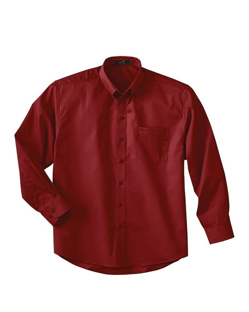 Ash City 87024 Men's Long Sleeve Shirt With Teflon