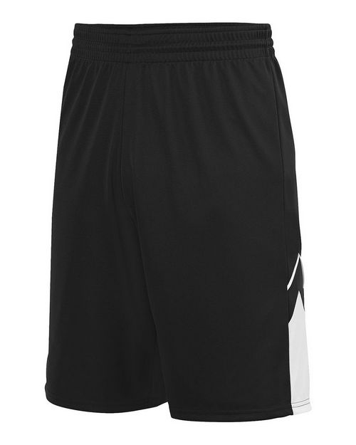 Augusta Sportswear 1169 Youth Alley-Oop Reversible Shorts
