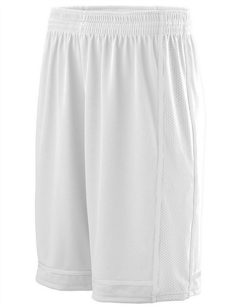 Augusta Sportswear 1186 Youth Wicking Polyester Shorts with Mesh Inserts