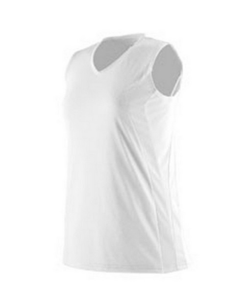 Augusta Sportswear 1236 Girls Triumph Sleeveless V-Neck Jersey