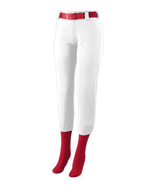 Augusta Sportswear 1240 Ladies Low Rise Homerun Pant