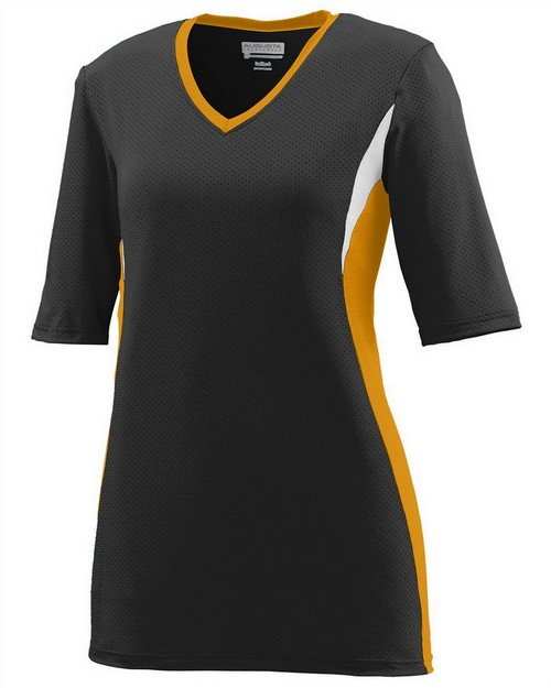Augusta Sportswear 1332 Ladies Wicking Poly/Span Half Sleeve Jersey