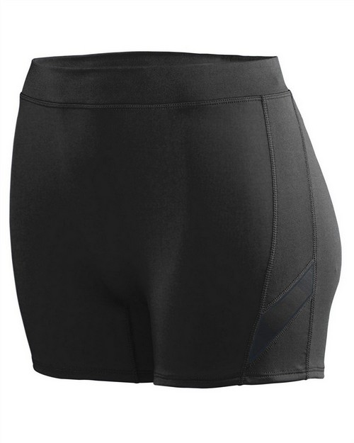 Augusta Sportswear 1335 Ladies Wicking Poly/Span Short