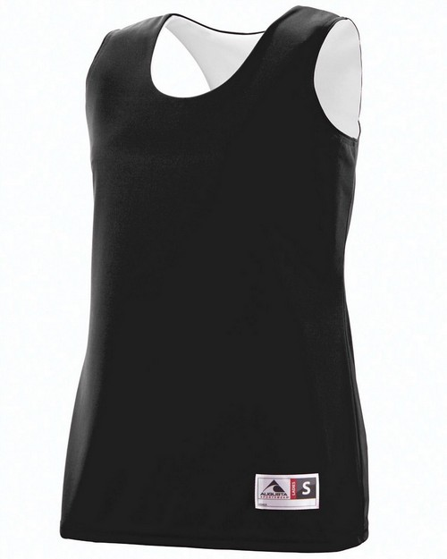 Augusta Sportswear 147 Ladies Wicking Polyester Reversible Sleeveless Jersey