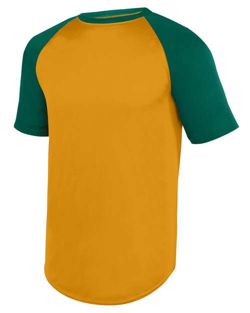 Augusta Sportswear 1509 Youth Wicking SS Baseball Jersey