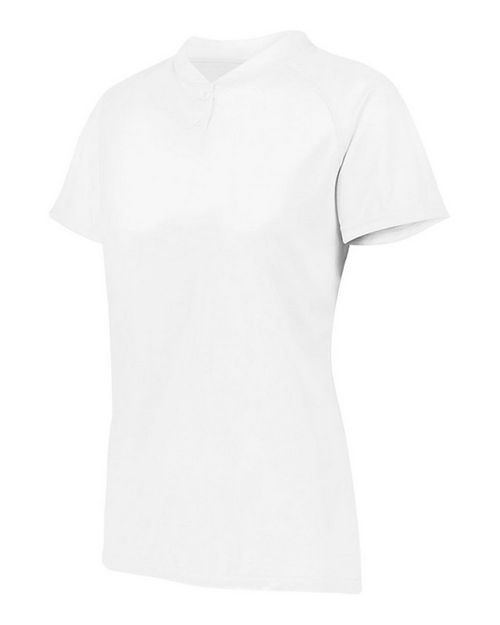 Augusta Sportswear 1567 Women's Attain Two-Button Jersey