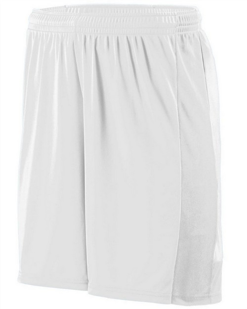 Augusta Sportswear 1606 Youth Wicking Polyester Short with Contrast Inserts