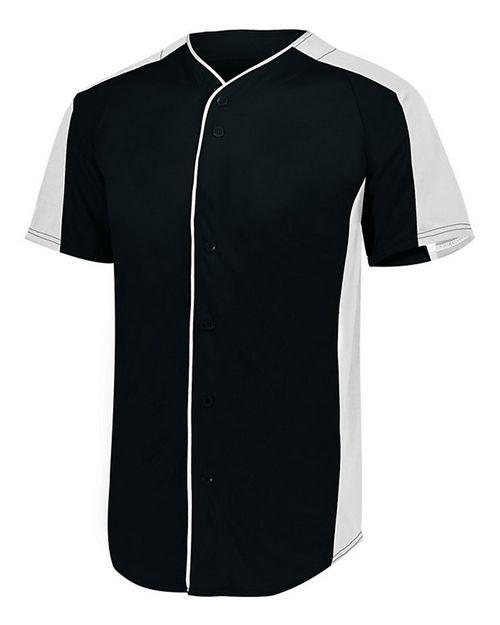 Augusta Sportswear 1655 Men Full Button Baseball Jersey