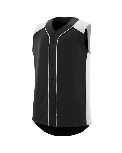 Augusta Sportswear 1663 Youth Sleeveless Slugger Jersey