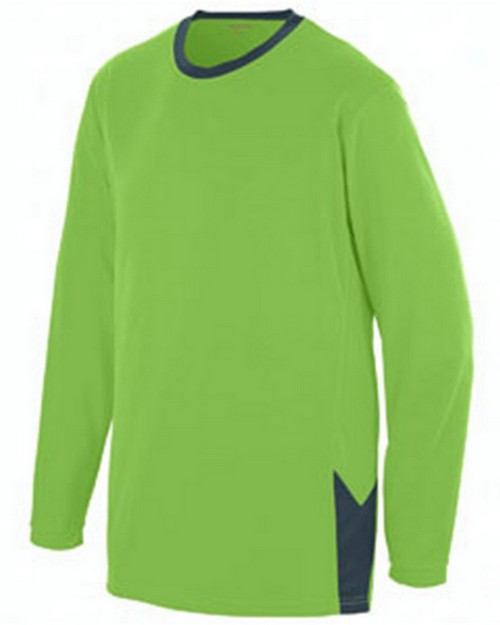 Augusta Sportswear 1718 Youth Block Out Long-Sleeve Jersey