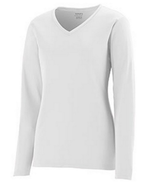 Augusta Sportswear 1788 Ladies Wicking Polyester Long-Sleeve Jersey
