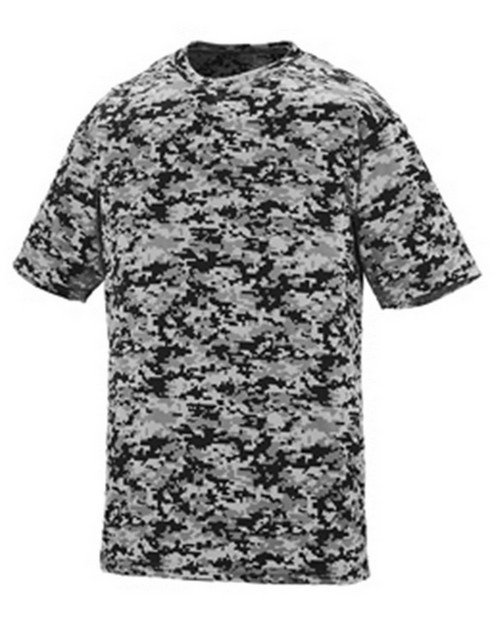Augusta Sportswear 1799A Youth Digi Camo Wicking Tee