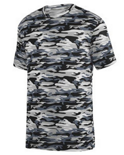 Augusta Sportswear 1806 Youth Mod Camo Wicking Tee