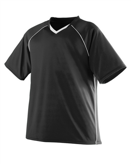 Augusta Sportswear 215 Youth Wicking Polyester V-Neck Jersey