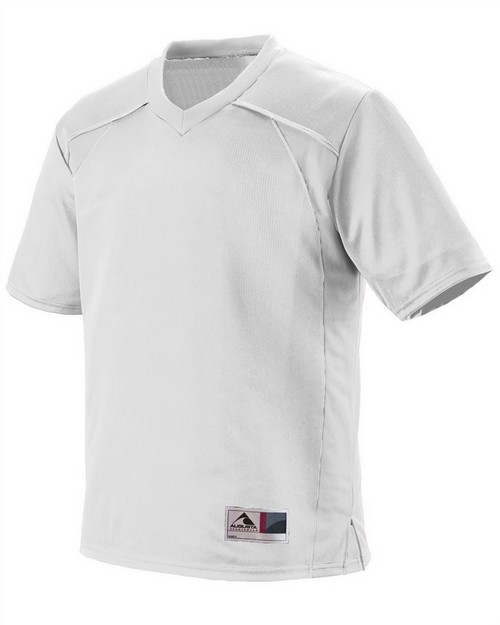 Augusta Sportswear 260 Adult Polyester Mesh V-Neck Short-Sleeve Jersey