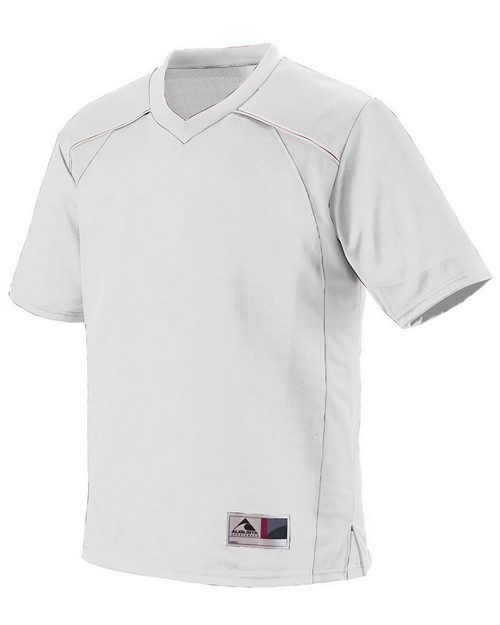 Augusta Sportswear 261 Youth Polyester Mesh V-Neck Short-Sleeve Jersey
