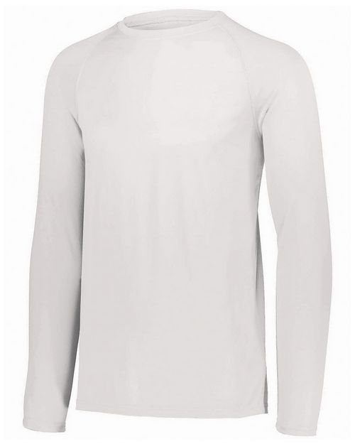 Augusta Sportswear 2796 Youth Attain Wicking Long-Sleeve T-Shirt