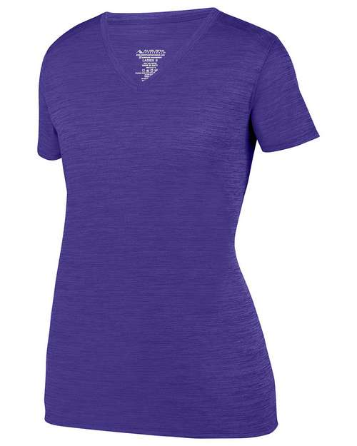 Augusta Sportswear 2902 Ladies Shadow Tonal Heather Training T-Shirt