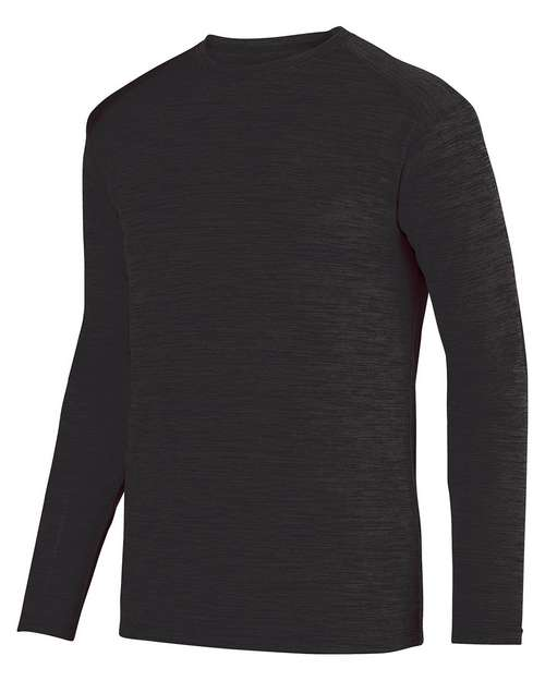 Augusta Sportswear 2903 Unisex Shadow Tonal Heather Long Sleeve T-Shirt