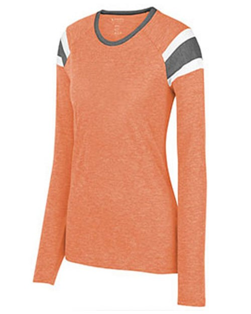Augusta Sportswear 3012A Ladies Long Sleeve Fanatic Tee
