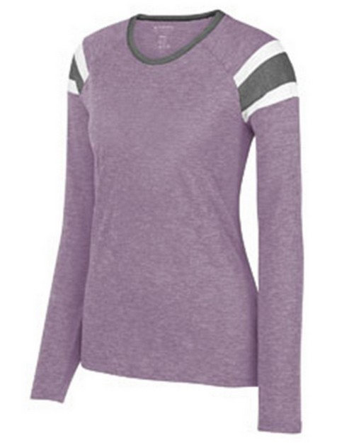 Augusta Sportswear 3012 Ladies Long Sleeve Fanatic Tees