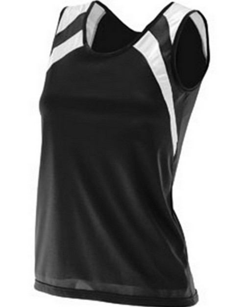Augusta Sportswear 313 Ladies Wicking Tank with Shoulder Insert