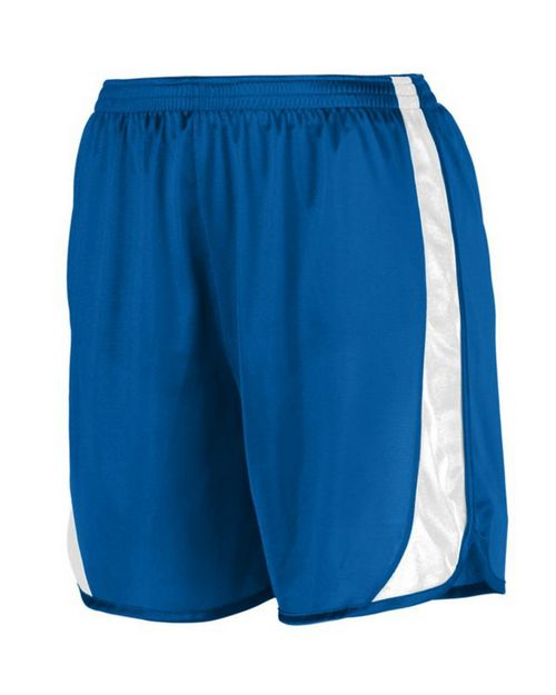 Augusta Sportswear 327 Adult Wicking Track Short with Side Insert