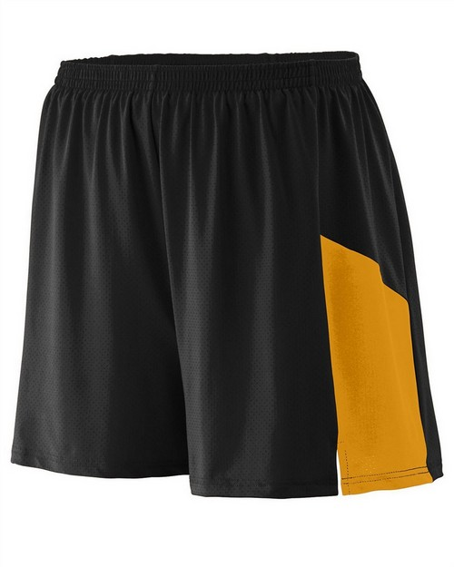 Augusta Sportswear 336 Youth Wicking Poly/Span Short with Inserts
