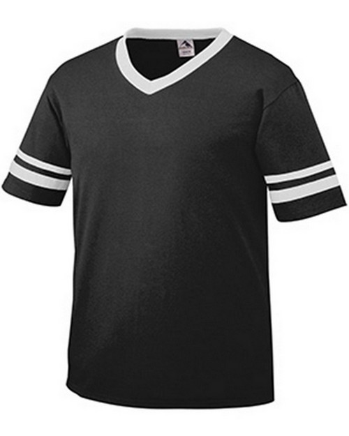 Augusta Sportswear 361A Youth Striped Sleeve Jersey