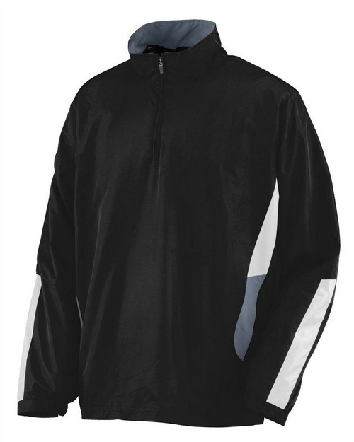 Augusta Sportswear 3720 Adult Water Resistant Polyester Diamond Tech Half Zip Pullover