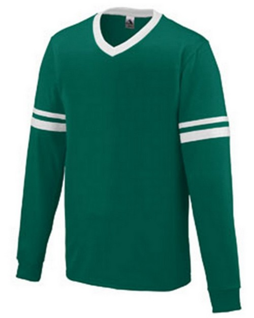 Augusta Sportswear 372 Adult Long-Sleeve Stripe Jersey