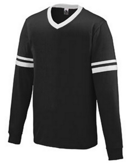 Augusta Sportswear 373 Youth Long-Sleeve Stripe Jersey