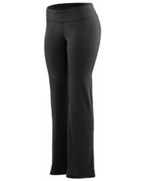 Augusta Sportswear 4814 Ladies Wide Waist Brushed Back Polyester/Spandex Pant