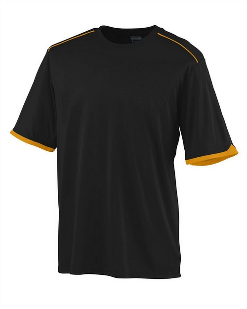 Augusta Sportswear 5044 Youth Wicking Polyester Short Sleeve T-Shirt with Contrast Piping