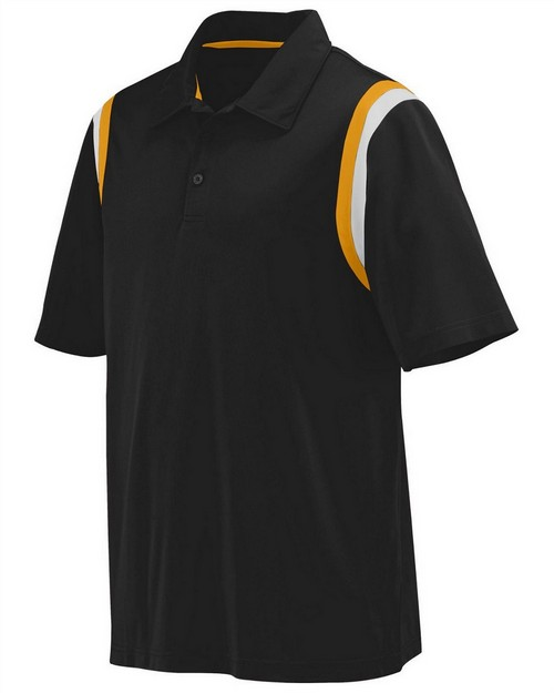 Augusta Sportswear 5047 Adult Wicking Snag Resistant Polyester Sport Shirt with Shoulder Inserts