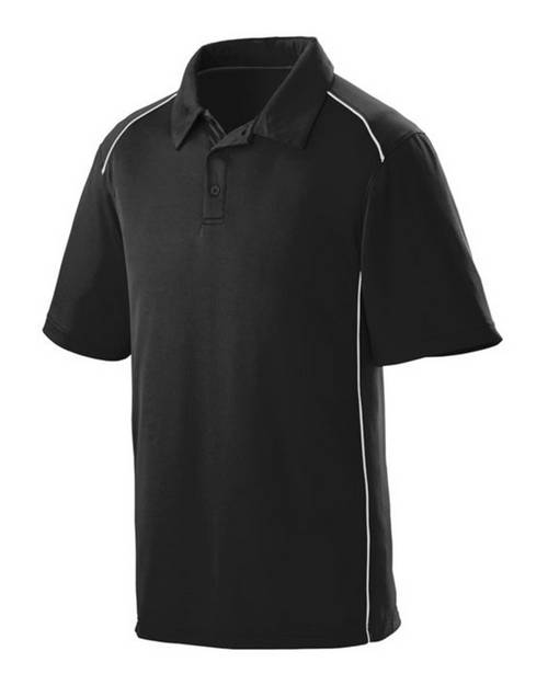 Augusta Sportswear 5091 Adult Wicking Polyester Sport Shirt with Contrast Piping