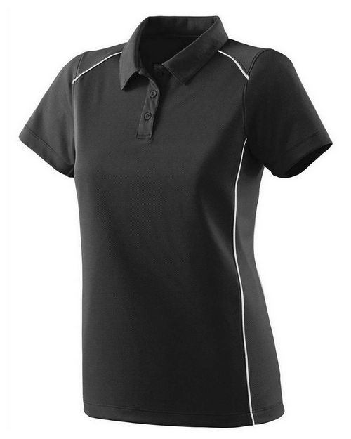 Augusta Sportswear 5092 Ladies Wicking Polyester Sport Shirt with Contrast Piping