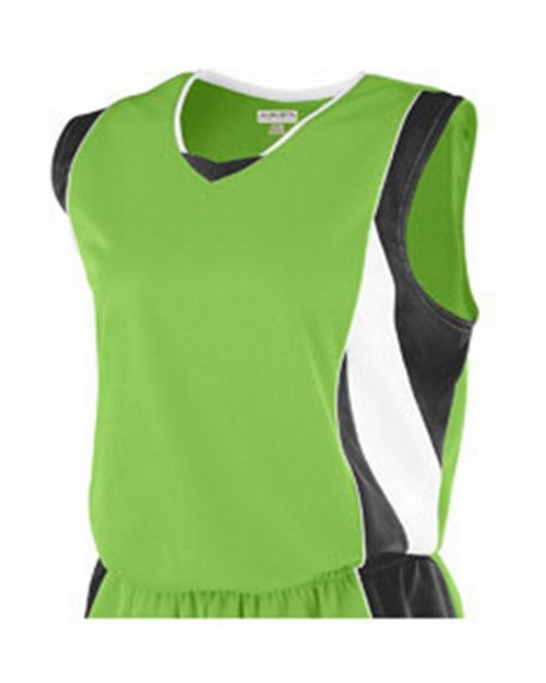 Augusta Sportswear 516 Girls Wicking Mesh Advantage Jersey