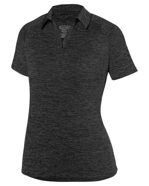 Augusta Sportswear 5409 Ladies Intensify Black Heather Sport T-Shirt