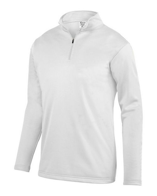 Augusta Sportswear 5507 Wicking Fleece Quarter-Zip Pullover