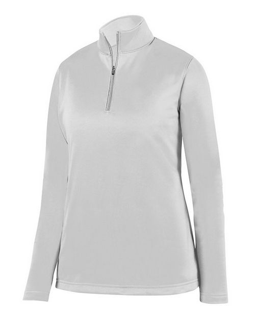 Augusta Sportswear 5509 Womens Wicking Fleece Quarter-Zip Pullover